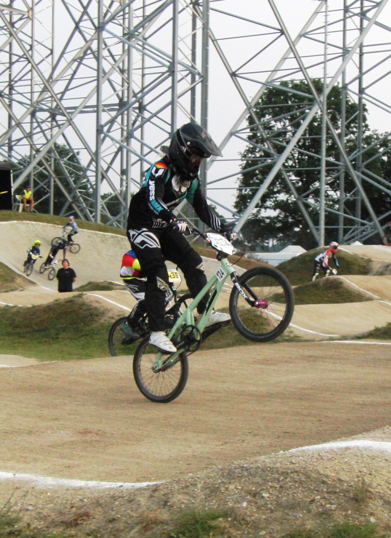 3 Nations Cup Peer « Regula Runge   #124   BMX Rider